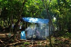 Esploratori tailandesi Immagine Stock