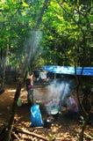 Esploratori tailandesi Fotografia Stock Libera da Diritti