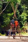 Esploratori tailandesi Fotografia Stock