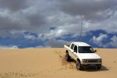 Esplorazione del deserto Fotografia Stock
