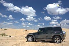 Esplorazione del deserto Immagini Stock