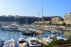 Esplorazione del Principato di Monaco Fotografie Stock Libere da Diritti