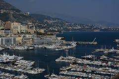 Esplorazione del Principato di Monaco Immagini Stock