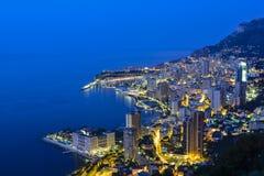 Esplorazione del Principato di Monaco Immagini Stock Libere da Diritti