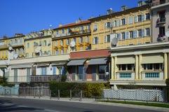 Esplorazione del Riviera francese in Nizza Fotografie Stock Libere da Diritti
