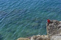 Esplorazione del Riviera francese in Nizza Fotografia Stock Libera da Diritti
