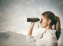 Esplorazione di affari Fotografie Stock