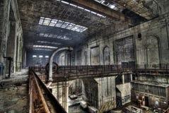 Esplorazione urbana della centrale elettrica Fotografie Stock