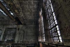 Esplorazione urbana della centrale elettrica Immagine Stock Libera da Diritti