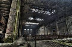 Esplorazione urbana della centrale elettrica Immagine Stock