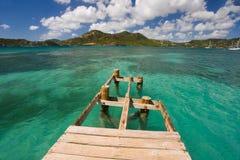 Esplorazioni dell'Antigua Immagini Stock