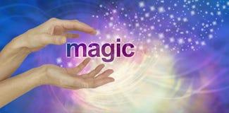 Esplori la magia di guarigione immagini stock