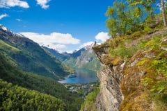 Esplori la Norvegia Immagini Stock