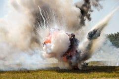 Esplosione Immagini Stock