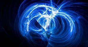 Esplosione astratta luminosa della nebulosa del backgound della supernova Fotografia Stock Libera da Diritti