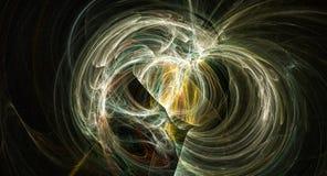 Esplosione astratta luminosa della nebulosa del backgound della supernova Fotografia Stock