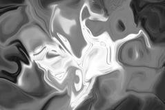Esplosione in bianco e nero della polvere dell'arcobaleno Fotografia Stock Libera da Diritti