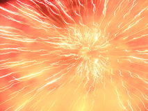 Esplosione chiara Immagini Stock