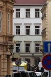 Esplosione del gas di Praga al 29 aprile 2013 Fotografie Stock