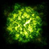 Esplosione della nube del gas Fotografia Stock