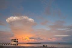 Esplosione della nuvola Fotografie Stock