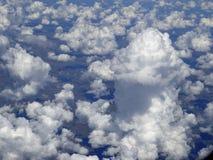 Esplosione della nuvola Immagini Stock Libere da Diritti