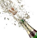 Esplosione di Champagne Immagini Stock