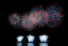 Esplosione di colore Fotografie Stock