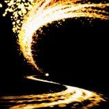 Esplosione di illuminazione Immagini Stock