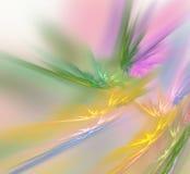 Esplosione luminosa di colore illustrazione vettoriale