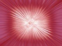 Esplosione rossa Fotografia Stock