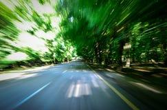 Esplosione verde Fotografia Stock Libera da Diritti