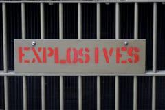 Esplosivi fotografia stock