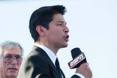 ESPN星期五晚上战斗 免版税库存照片