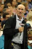 ESPN analityka ćwieka Gilbert komentarze dopasowywają przy us open 2016 przy Billie Cajgowego królewiątka tenisa Krajowym centrum Zdjęcie Stock