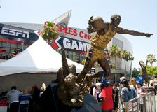 ESPN X Games Seventeen in Los Angeles. LOS ANGELES - JULY 29: Panoramic of the exterior of Downtown Los Angeles during the extreme sports ESPN X Games Seventeen Stock Images