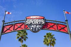 ESPN, Wide World of Sports, Florida, USA, 4 Jan 2016 Stock Images