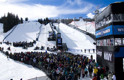 ESPN Winter X-Games 2011 Royalty Free Stock Photos