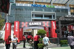 ESPN X Games Seventeen in Los Angeles Royalty Free Stock Photography
