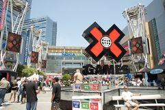 ESPN X Games Seventeen in Los Angeles Stock Images