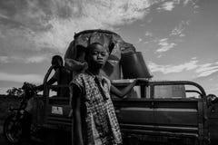 Espoir africain images libres de droits