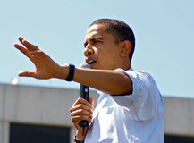 Espoir d'Obama Images stock
