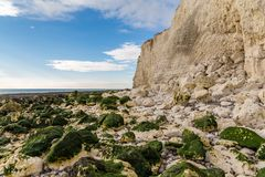 Espoir Gap, le Sussex est, R-U photo stock