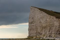Espoir Gap, le Sussex est, R-U photos libres de droits