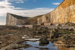 Espoir Gap, le Sussex est, R-U photos stock