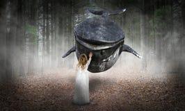 Espoir surréaliste, paix, amour, nature Photographie stock libre de droits