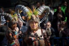 Espolones en carnaval imágenes de archivo libres de regalías