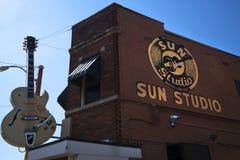 Esponga al sole lo studio record aperto dal pioniere Sam Phillips di rock-and-roll in Memphis Tennessee U.S.A. Fotografia Stock Libera da Diritti