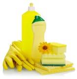 Esponja de la cocina de la higiene Imagen de archivo libre de regalías