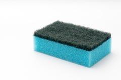 Esponja de lavagem do prato Imagens de Stock